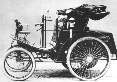 Evolusi Mobil 1898-benz