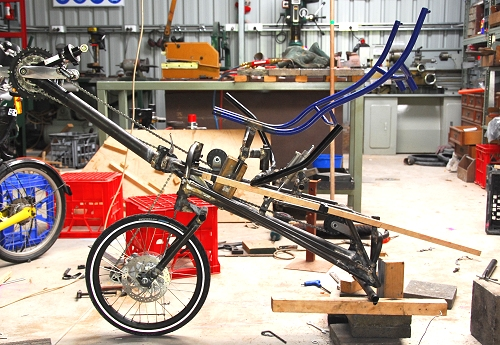 Ecosse S Es1 Superbike Has A Frameless Chassis With Unique Suspension Design Lead Sled